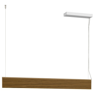 lirio by philips piega luce hanglamp led small bruin