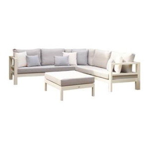 Live Outdoor Living Delta Aluminium Loungeset