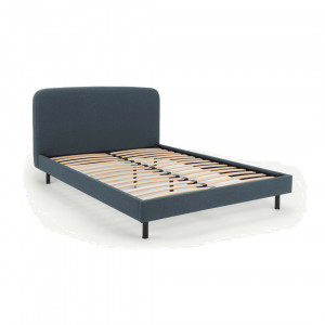 MADE Essentials Besley kingsizebed, oceaanblauw