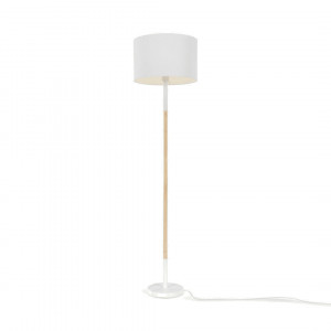 MADE Essentials Kyle staande lamp, wit