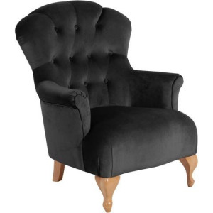 Max Winzer® Chesterfield fauteuil 'Clara', met chique capitonnage