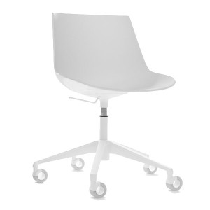 Flow Chair bureaustoel wit