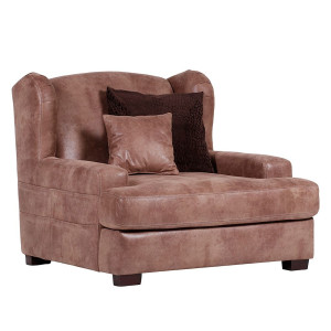 Home24 Megaoorfauteuil Dream, Red Living