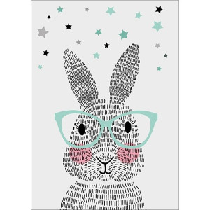 Sparkling Paper Poster Mr. Rabbit - A3