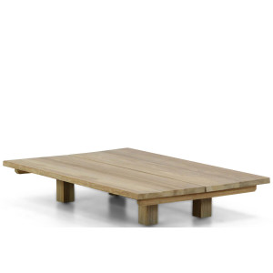 Santika Metropolis low lounge table teak 120x80