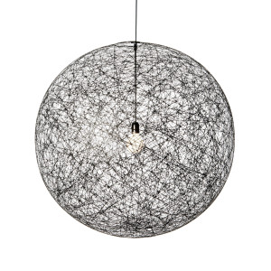 Moooi Random Light LED hanglamp zwart medium