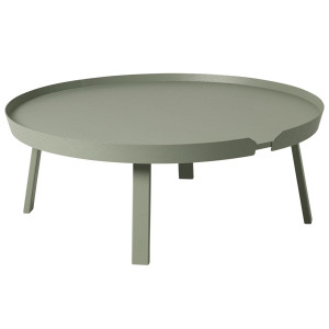 Muuto Around Coffee salontafel XL 95 dusty green