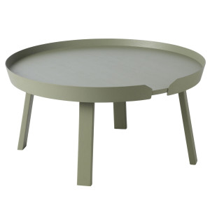 Muuto Around Coffee salontafel large groen 72