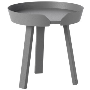 Muuto Around Coffee salontafel small donkergrijs 45