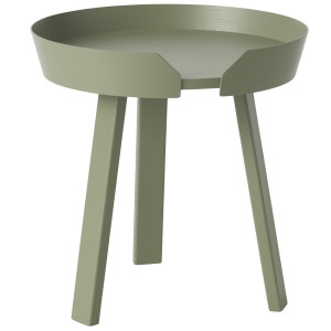 Muuto Around Coffee salontafel small groen 45