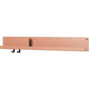 Muuto Folded wandplank large light terracotta