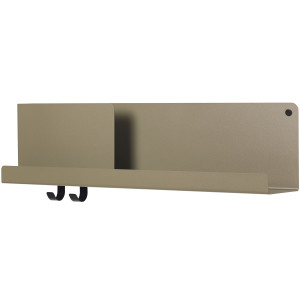 Muuto Folded wandplank medium olijfgroen