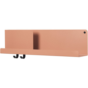 Muuto Folded wandplank medium light terracotta
