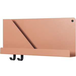 Muuto Folded wandplank small light terracotta