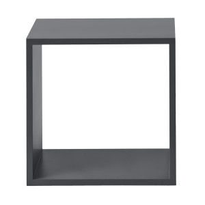 Muuto Stacked kast medium donkergrijs