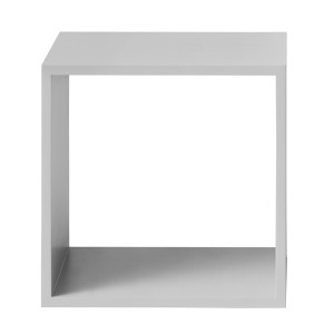 Muuto Stacked kast medium lichtgrijs