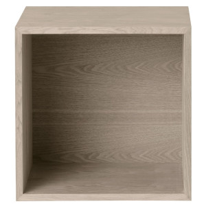 Muuto Stacked kast met backboard medium ash