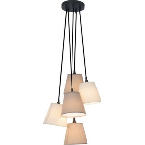 Naeve hanglamp, 5 fittingen