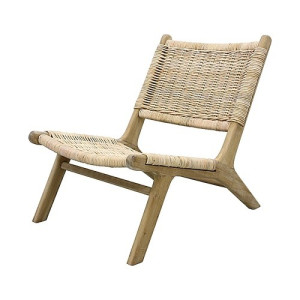 HKliving Wicker Loungestoel - 64 x 79 cm