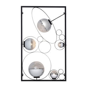 Kare Design Balloon Muurlamp zwart