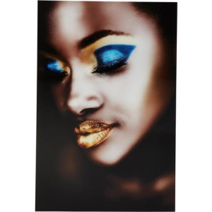 Premium collection by HOME AFFAIRE artprint achter acrylglas Fashion-Face, 60x90 cm