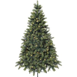 Premium-kunstkerstboom met led-lichtsnoer