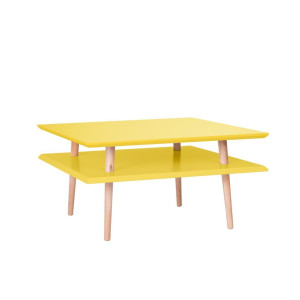 Ragaba Ufo Square Salontafel Low Geel