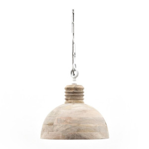 By-Boo Wood Ronde hanglamp