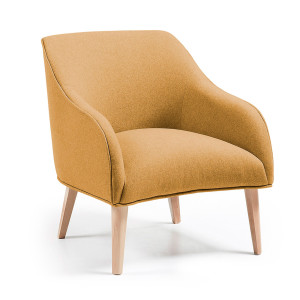 Lobby fauteuil | Laforma-Kave | Mosterd