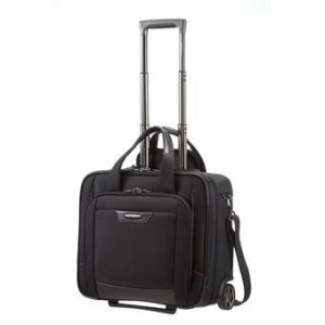 """Samsonite Pro-DLX 4 Rolling Tote 16.4"""" Trolley"""