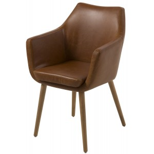 Scandes - Karl Fauteuil - Bruin