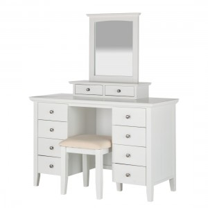 Make-uptafel Abbey incl. hocker