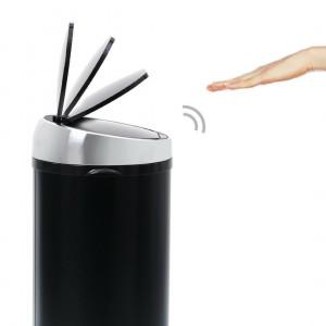 Sensé touch-free afvalemmer 50L, zwart