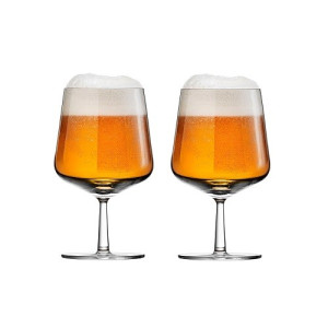 Iittala Essence Bierglas 480 ml Set van 2 - Helder