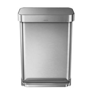 Simplehuman Rectangular Liner Pocket Pedaalemmer 55 L