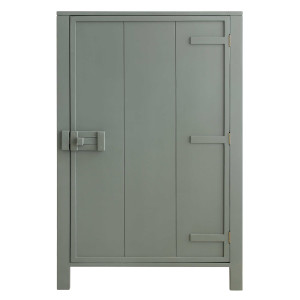 HKliving Single Door opbergkast army green