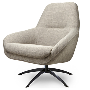 Dyyk - Specter Fauteuil - Stof - Taupe