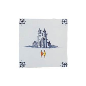 StoryTiles Happily Ever After for Girls Wandtegel 10 x 10 cm
