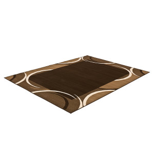 Tapijt Prime Pile Abstract - bruin - 190x280cm, Hanse Home Collection