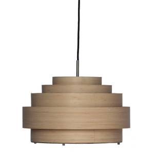Ay illuminate Thin Wood hanglamp small