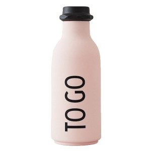Design Letters TO GO Waterfles 0,5 L - Roze