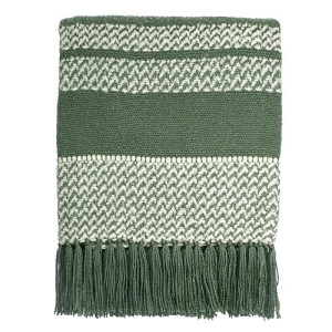 Malagoon Berber Plaid 125 x 150 cm - Turtle Green