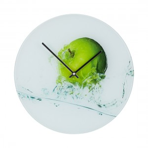 Wandklok Apple