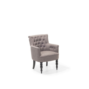Fauteuil stof taupe ALESUND