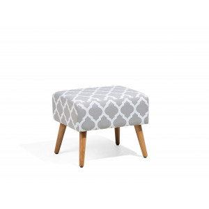 Hocker grijs MANTEO