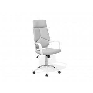 Bureaustoel wit/grijs DELIGHT