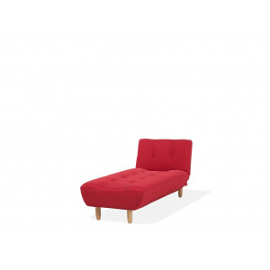Chaise longue rood ALSTEN
