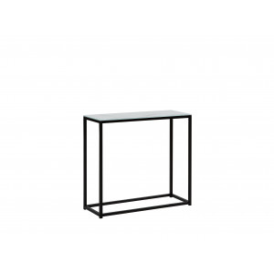 Sidetable marmer-look wit/zwart DELANO