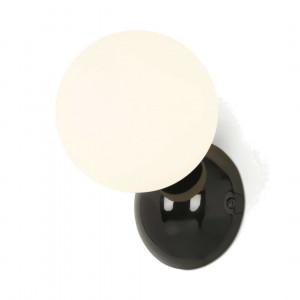 Vetro badkamer wandlamp, zwart