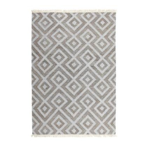 Vloerkledenwinkel Home Collection Carpe Diem Grey Natural Vloerkleed 240 x 170 cm